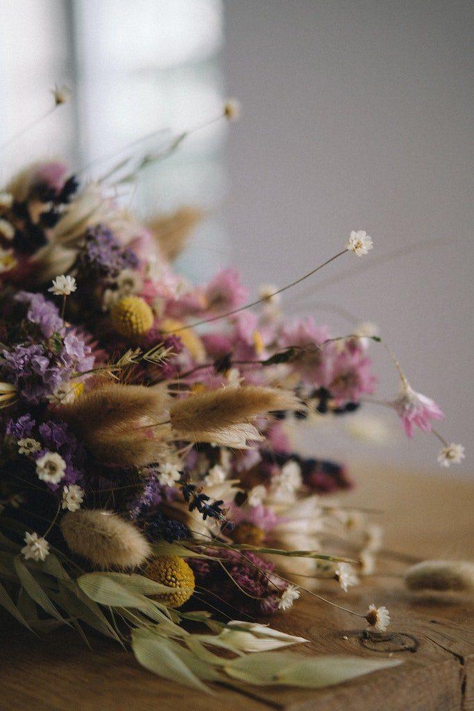 Bouquet fleurs sèches